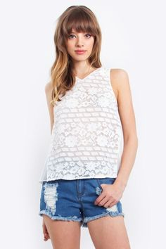 Emily Lace Top