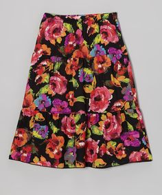 Cute Maxi skirts for girls and matching skirts for mommy on zulily! Kira loves her new skirts! :)