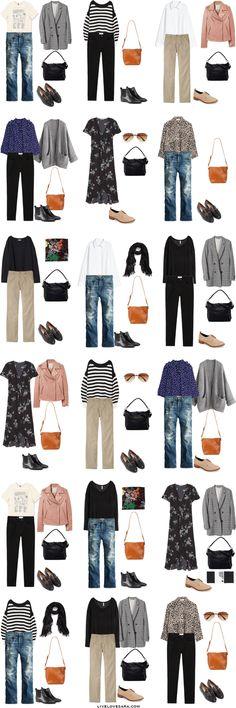 What to Pack for Barcelona, Spain Packing Light List Outfit Options | What to pack for Barcelona | What to Pack for Spain | Packing Light | Packing List | Travel Light | Travel Wardrobe | Travel Capsule | Capsule |
