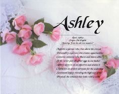 Family Tree Template: First name Meanings First Names, Baby Names, Libra, Ashley Name, Name Origins, Ashley Nicole, Name Games, Cards For Boyfriend, Wallpaper Iphone Disney