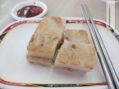 Luo Buo Gao - Raddish Cake....vegan recipe