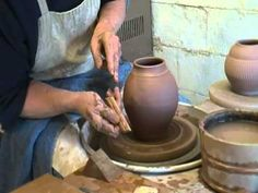 Throwing, Altering and Texturing a Lidded Storage Jar Ceramic Tools, Ceramic Jars, Ceramic Tableware, Ceramic Clay, Clay Tools, Pottery Tools, Glazes For Pottery, Ceramic Pottery, Pottery Wheel