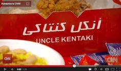 Revolutionary fast food: Anthony Bourdain samples Libya's 'Uncle Kentaki' chicken .....Awesome but still....TOO FUNNY