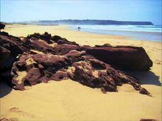 Carrapateira beach on Algarves west coast