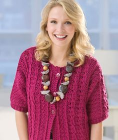 ***Crochet Cable Cardi *** ~ Just the pattern I've been looking for!
