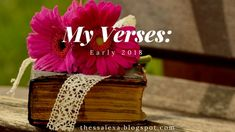 Thoughtful Thursdays: Verses for Early 2018