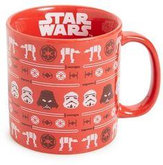 This delights me. Big! :: Star Wars Christmas Mug