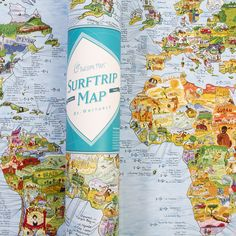 Planning a Surf Trip this spring/summer? Get your hands on this Surf Trip map for all the best spots for you to catch some waves!