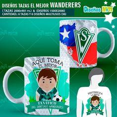 PLANTILLAS AQUÍ TOMA FANÁTICO DEL WANDERERS #chile #mottaPlantillas