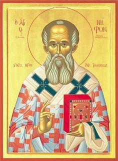 +) Holy Hierarch Niphon, patriarch of Constantinople; Byzantine Icons, Catania, Primates, Holi, Nativity, Saints, Prayers, Princess Zelda, Movie Posters