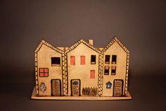 ceramik toolbox, handmade, houses