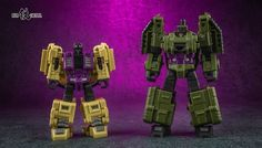 Iron Factory War Giant Attackers Set Color Photos Of Legends-Scale Unofficial Swindle And Brawl