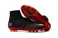 huge discount d427e b4da6 2017 Nike Hypervenom Phantom II FG mix black NJR jordan soccer cleats