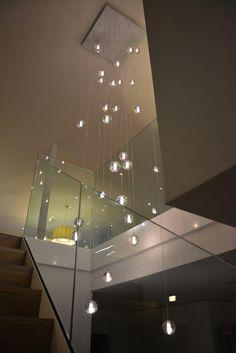 Globe pendants Lighting Alternative to Bocci lighting using 14