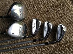 triumph tempo zss2 3,4,5,6,7,8,9,pw iron set - used golf clubs
