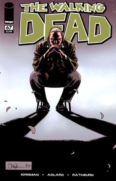 The Walking Dead : Comic Artwork! Love them both! Except Carl. He sucks in the show.