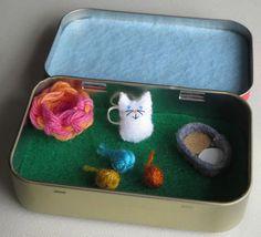 Мир в коробке: одна крутая идея и 37 милых примеров - Ярмарка Мастеров - ручная работа, handmade
