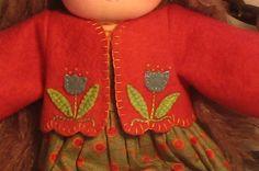 Waldorf Doll Jacket coat