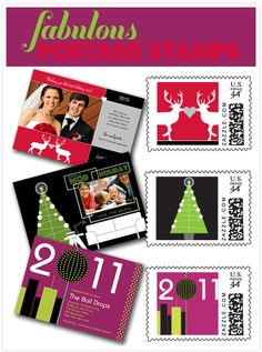 Perfect for sending out our first Christmas card as a married couple! #myperfectparty