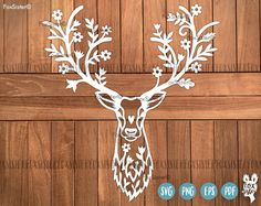 FoxSister の Original SVG/PNG paper & vinyl cut templates. Christmas Templates, Christmas Svg, Vinyl Paper, Paper Art, Deer Design, Cricut, Stencil Material, Decorate Notebook, Notebook Covers