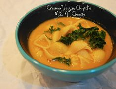 Creamy Chipotle Mac 'n' Cheese [Vegan/Gluten Free] - The best vegan macaroni ever.