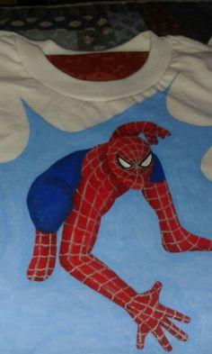 Camiseta Spiderman ByBety