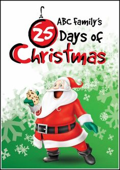 ABC Family's 25 Days Of Christmas 2014 Schedule.  A great way to watch Christmas classics for FREE with your family. This list has the entire 2014 schedule!