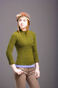 Carnaby Street Pullover (free knit pattern)