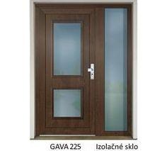 GAVA 225 Nussbaum vchodové dvere Bedroom Closet Design, Fence Design, Glass Doors, Bathroom Medicine Cabinet, Mirror, House, Furniture, Home Decor, Ideas