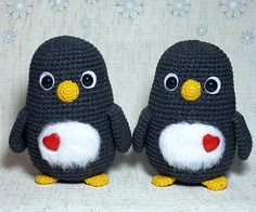 Love the different kinds of penguins. Nice crochet pattern!  #crochet #amigurumi