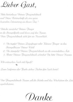 Hochzeits-Fingerabdruck-Baum-Gästebuch  Material: Leinwand mit Bilderrahmen Acryl Farbe Pinsel Bleistift Stempelfarbe verschiedene Farben permanent marker Text für die Gäste Feuchttücher Anl…