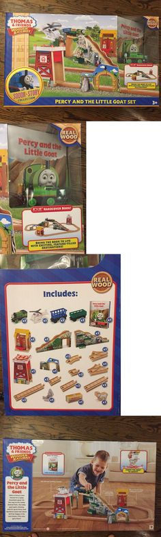 Train Sets 113519: Thomas And Friends Percy And The Little Goat Wooden Railway Set Bnib -> BUY IT NOW ONLY: $110 on eBay!