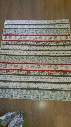 Gumnut babies strip quilt