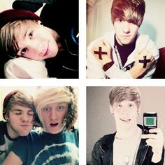 Patty Walters and a cheeky Jason :3 He has the same case on his iPod as my bf Will. :D