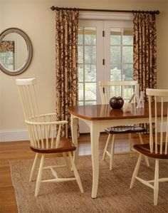 Amish New England Windsor Dining Room Chair | Chairs, Amish and ...