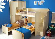 cuarto para tres niños