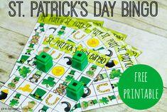 Printable St. Patrick's Day Bingo