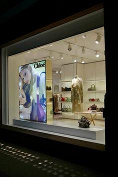 Chloe: FW14 AD Campaign Windows By www.chameleonvisual.com
