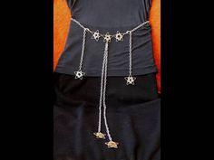A metal chain belt for all seasons  Silver chain by TheKopperKat, $25.00