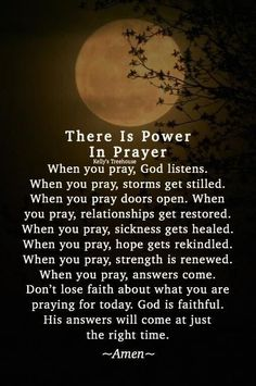 The power of prayer 🙏💚 Prayer Scriptures, Bible Prayers, Faith Prayer, God Prayer, Power Of Prayer, Bible Verses Quotes, Faith Quotes, Son Quotes, Catholic Prayers