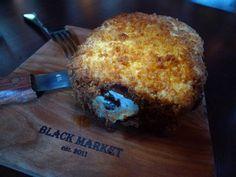 Black Market Liquor Bar in Studio City, California is now serving up deep-fried Fluffernutter sandwiches.