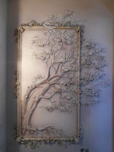 Faire ce principe pour la chambre à Anya Lofty plaster wall art best interior sculptures mstor info perfect ideas images on incredible decoration uk is one of images from plaster wall art. Find more plaster wall art images like this one in this gallery 3 Plaster Art, Plaster Walls, Plaster Crafts, Home And Deco, Wall Sculptures, Tree Sculpture, Sculpture Painting, Cool Walls, Wall Murals