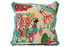 Chinoiserie Chic: A New Favorite Chinoiserie Fabric - Mandarin Dragons