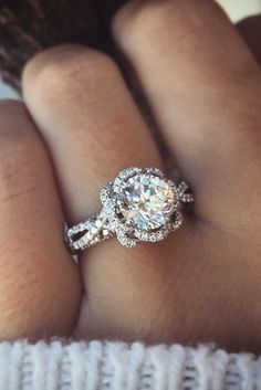 TOP Engagement Ring Ideas ❤ See more: http://www.weddingforward.com/top-engagement-ring-ideas/ #weddings