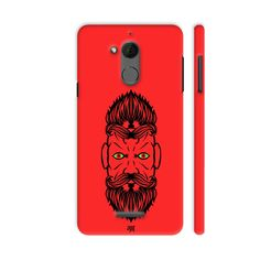 Quirky product on Colorpur 2 Beardiful On Re.... Check out http://www.colorpur.com/products/2-beardiful-on-red-coolpad-note-5-case-artist-life-art?utm_campaign=social_autopilot&utm_source=pin&utm_medium=pin
