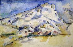 Paul Cézanne - Montagne Sainte Victoire