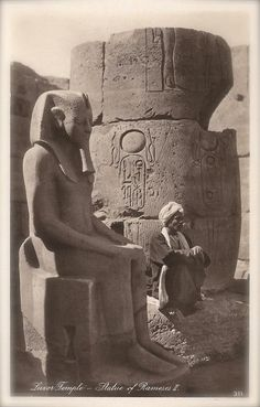 Ancient Egyptian Sculptures 1920s Lehnert & Landrock