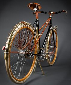 Ascari Mixtie Custom Bicycle Company: This stallion of a bike is going to be sold exclusively at Ralph Lauren's new flagship store on Fifth Avenue in NYC. Ascari makes high-end bicycles in Portland, Oregon that are individually crafted to each customer's specifications.