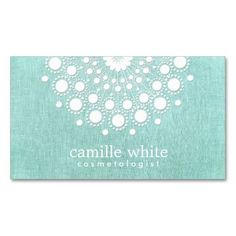 Shop Cosmetology Pretty White Rosette Light Aqua Blue Business Card created by sm_business_cards. Fashion Business Cards, Beauty Business Cards, Salon Business Cards, Hairstylist Business Cards, Makeup Artist Business Cards, Elegant Business Cards, Custom Business Cards, Business Card Design, Down Icon