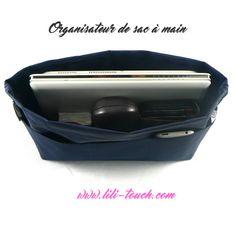 Organisateur de sac à main pour grand sac. Pour organiser l'intérieur de votre sac à main.